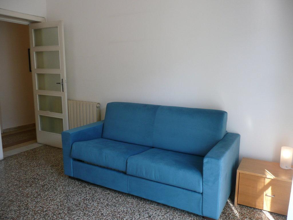 divano letto nella 2° camera